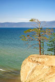 Het eiland van Olkhon op het meer van Baikal Royalty-vrije Stock Foto