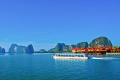 Het eiland van Panyi bij zuiden van Thailand Stock Fotografie