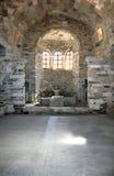 Het eiland van Paros, Griekenland - Griekse orthodoxe kerk Stock Foto