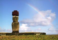 Het eiland van Pasen Stock Foto's