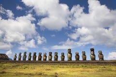 Het eiland van Pasen Stock Fotografie