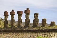 Het eiland van Pasen Royalty-vrije Stock Afbeeldingen