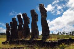 Pasen-eiland stock foto