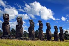 Het eiland van Pasen royalty-vrije stock foto's