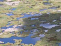 Het Eiland van Pasen - Kau Rano vulkaan Stock Afbeelding