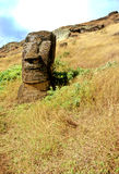 Het Eiland van Pasen van Moai- royalty-vrije stock afbeelding