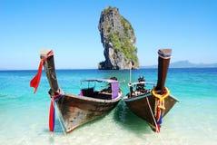 Het eiland van Poda in Krabi Stock Afbeeldingen