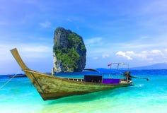 Het eiland van Poda in Krabi Thailand Stock Afbeelding