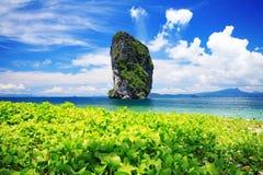 Het Eiland van Poda in overzees Andaman Royalty-vrije Stock Fotografie