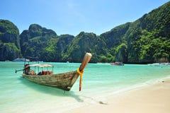 Het eiland van Poda, zuiden van Thailand Stock Afbeelding