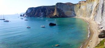Het eiland van Ponza Royalty-vrije Stock Foto's