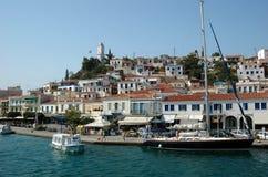 Het eiland van Poros Stock Fotografie