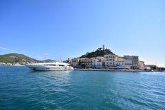 Het eiland van Poros royalty-vrije stock foto