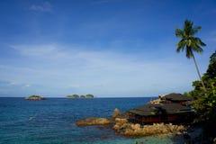 Het eiland van Redang Royalty-vrije Stock Afbeelding
