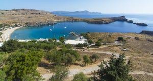 Het eiland van Rhodos Royalty-vrije Stock Afbeeldingen