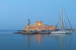 Het eiland van Rhodos in Griekenland Royalty-vrije Stock Foto's