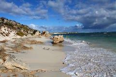Het eiland van Rottnest in Australië Stock Fotografie