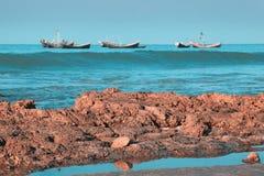 Het Eiland van Saint Martin Bangladesh stock afbeeldingen