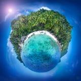 Het eiland van Samui, Thailand Perfecte toevluchtachtergrond Royalty-vrije Stock Fotografie