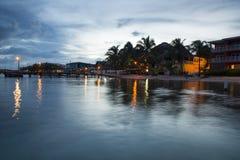 Het eiland van San Pedro Stock Foto's