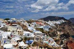Het Eiland van Santorini royalty-vrije stock foto