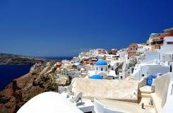 Het Eiland van Santorini royalty-vrije stock afbeelding