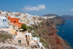 Het eiland van Santorini. Griekenland Royalty-vrije Stock Afbeeldingen