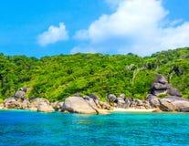 Het eiland van Similan Stock Foto