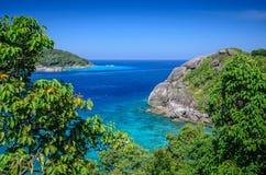 Het eiland van Similan Stock Afbeelding