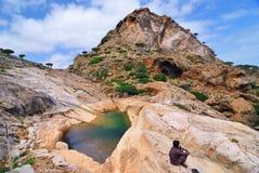 Het eiland van Socotra, Yemen Royalty-vrije Stock Fotografie