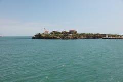 Het eiland van St Anastasia Stock Foto's