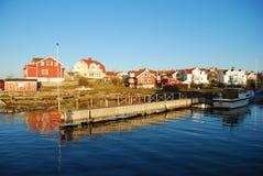 Het eiland van Styrsö, Gothenburg, Zweden Stock Afbeelding