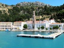 Het eiland van Symi, Griekenland royalty-vrije stock foto's