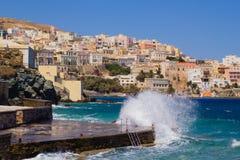 Het Eiland van Syros stock foto