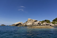 Het eiland van Tao in zuiden van Thailand Stock Afbeelding