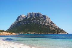 Het eiland van Tavolara royalty-vrije stock afbeeldingen