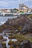Het Eiland van Terceira, de Azoren, Portugal Stock Afbeelding