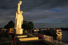 Het eiland van TWEE HELE NOTEN .MARAJO. (Amazonië). BRAZILIË Royalty-vrije Stock Afbeelding