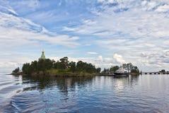 Het eiland van Valaam Royalty-vrije Stock Afbeeldingen