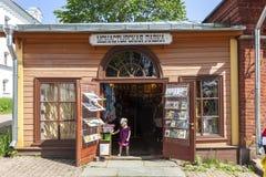 Het eiland van Valaam De winkel van het pictogram royalty-vrije stock foto's