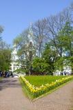 Het eiland van Valaam Het Klooster van spaso-Preobrazhensky Valaam royalty-vrije stock foto's