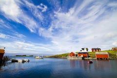 Het eiland van Vega in Noorwegen Royalty-vrije Stock Foto's
