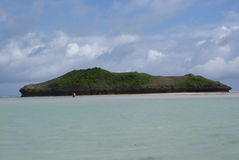 Het eiland van Watamu Stock Foto