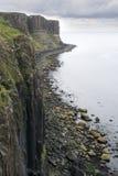 Het Eiland van watervallen Skye in Augustus Stock Foto