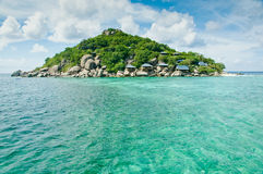 Het eiland van Yuan van Nang in Thailand Stock Fotografie