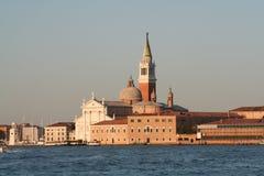 Het eiland Venetië Italië van San Giorgio Royalty-vrije Stock Fotografie