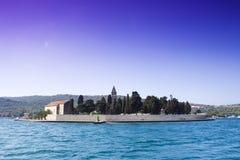 Het eilandlandschap van Vis Royalty-vrije Stock Foto