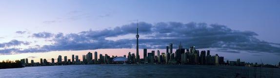 Het Eilandmening van Toronto Stock Afbeeldingen