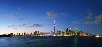 Het Eilandmening van Toronto Stock Afbeelding