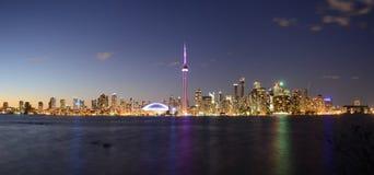 Het Eilandmening van Toronto Stock Foto's